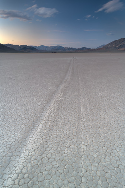 Death Valley National Park, Racetracks