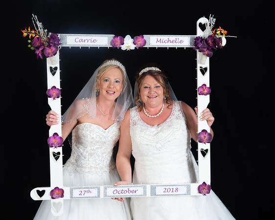 Michelle and Carrie's Wedding Photo Booth