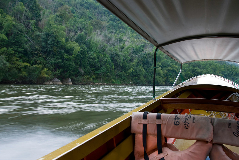 En route to the Jungle Rafts Hotel, our lodging for two nights.