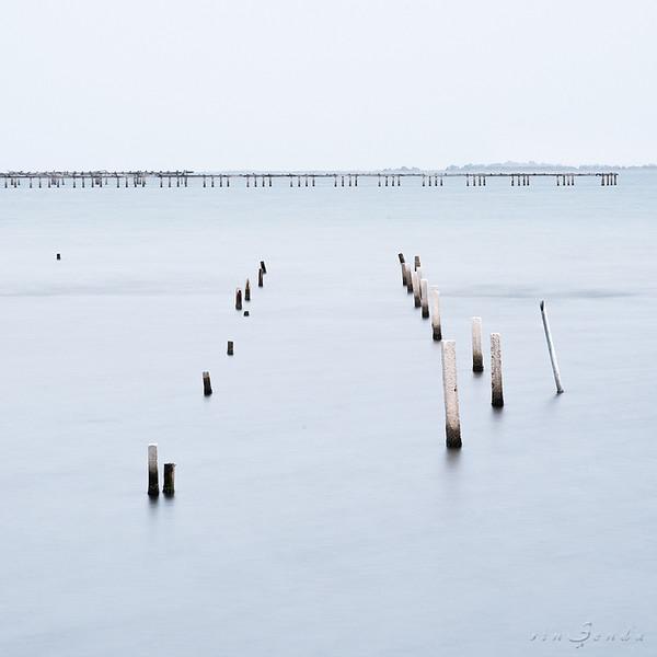 Blue dock I