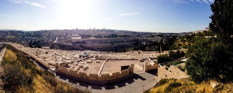 Arrival in Jerusalem