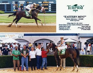 EASTERN MINT - 9/10/2000