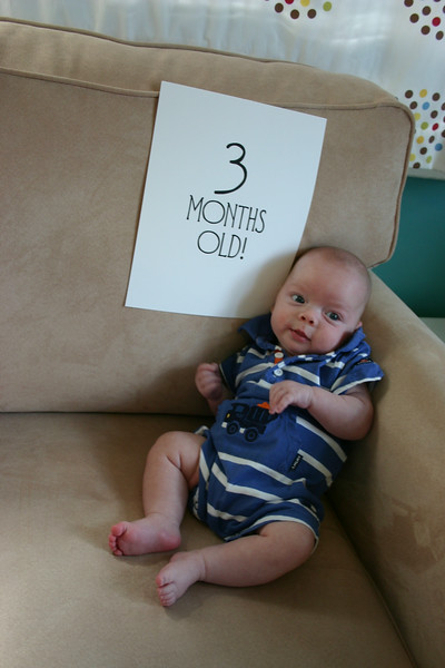 Linus is 3 months old!