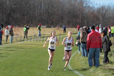 Womens 6K @ 2500m - 2015 NCAA D1 XC Great Lakes Regional