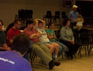 2005-10-04 Team Meeting