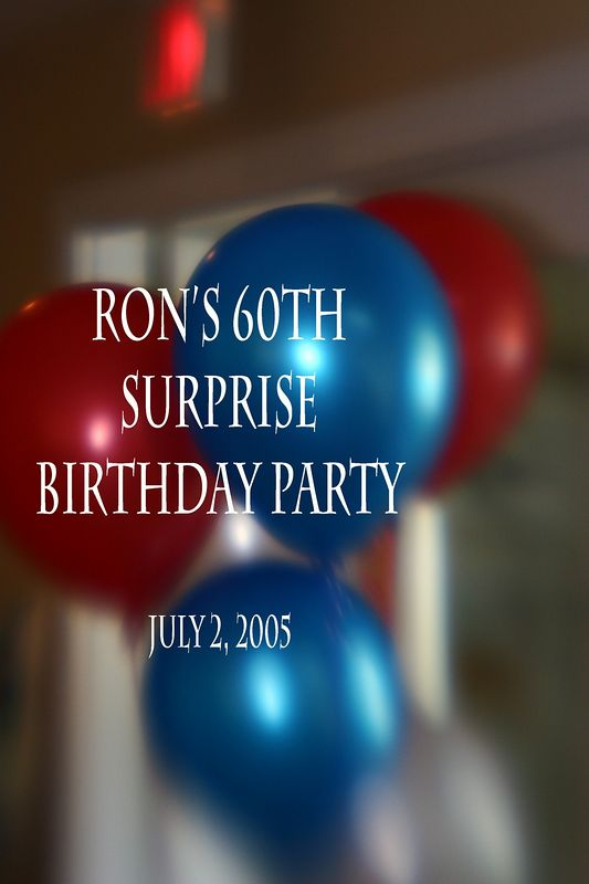 Ron Carter's 60th Birthday Party, July 2, 2005