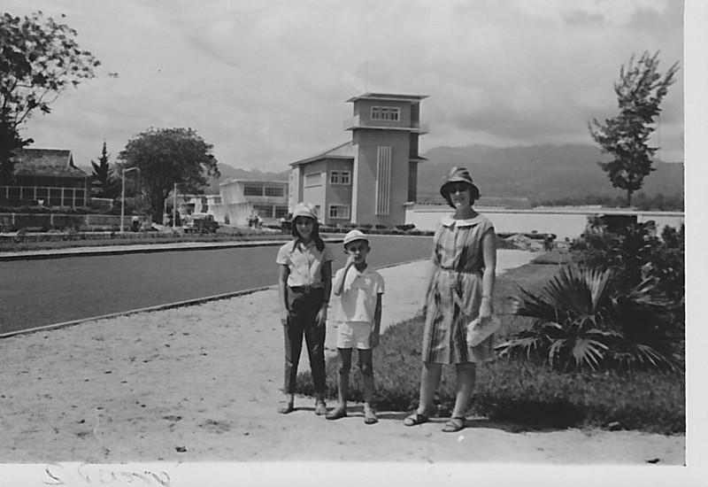 1964 S. Tome' e Principe - Familia Adalberto: Zelinha, Beka e Teresa