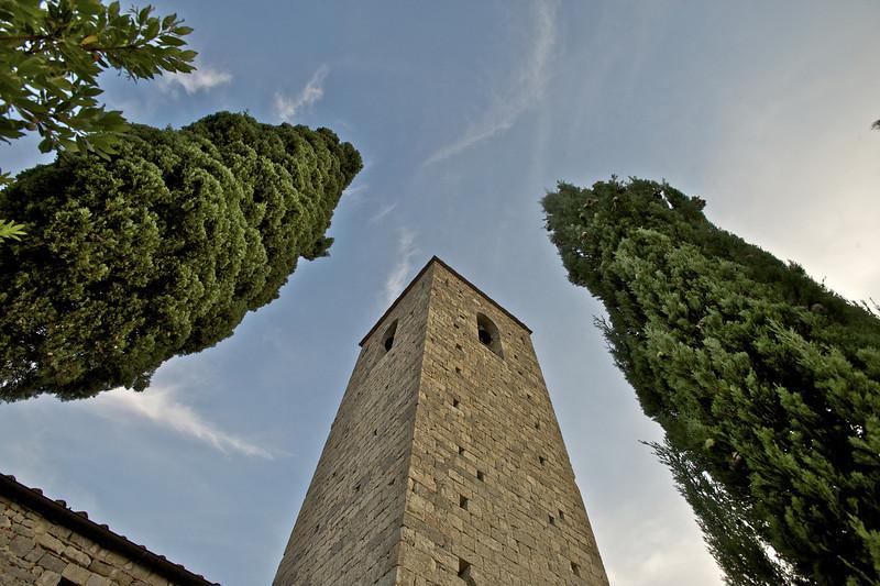 Bell Tower, Castello di Spaltenna, Gaiole, Italy