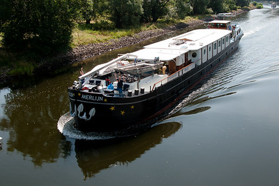 2016 Merlijn bike and barge