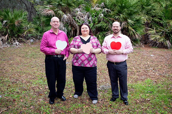 Valentine's Day Minis: Lisa, Ron, and Cameron!