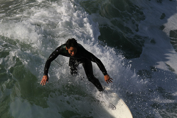 Manhattan Beach Surfers