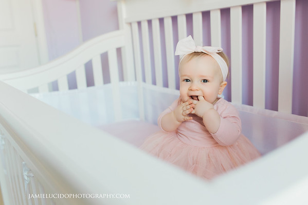 At home with Baby E: 10 Month Milestone Session