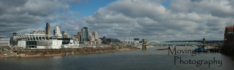 Paul Brown Stadium - Cincinnati Skyline