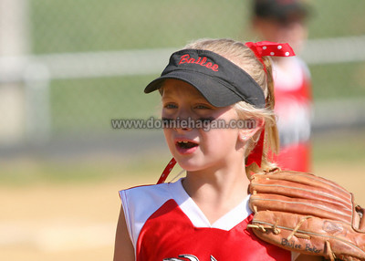 Highland Heat vs Whitesville Ladybugs  7-15-2007