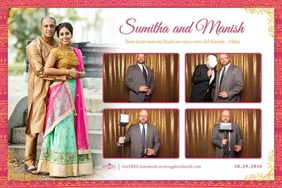 Sumitha & Manish (prints)