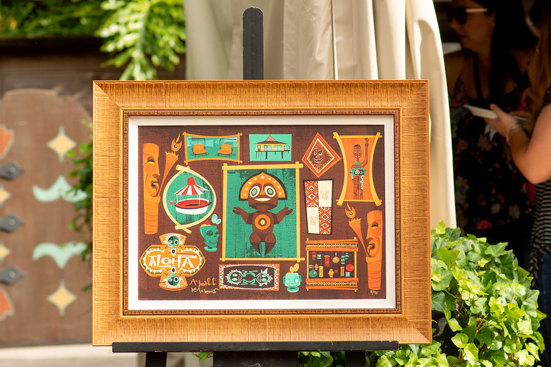 Tiki art - Epcot Walt Disney World