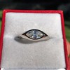 1.10ct Vintage Marquise Cut Diamond Ring 11