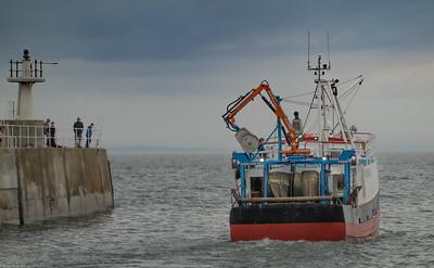 Pittenweem Harbour Scotland 9 June 2020
