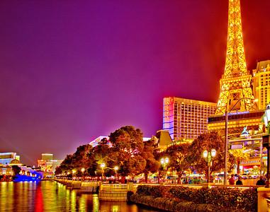 Las Vegas, Nevada at Night 2012