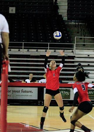 VSU Volleyball/Maurice Clarett 9-30-14