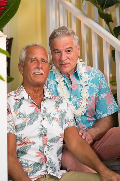 Leonard and Dean on Maui