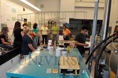 16057 Materials Science Teachers Camp Lab Tour 7-24-15