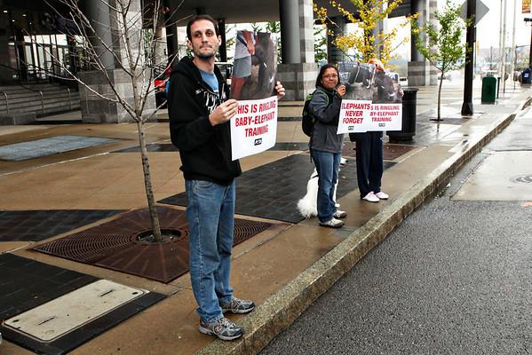 PETA Circus Protest Cleveland