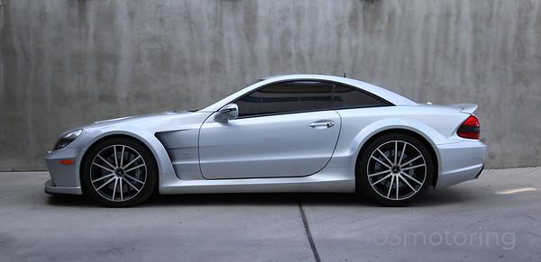 '09 SL65 AMG Black Series - Iridium Silver
