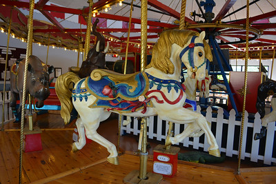 Wild Things Carousel at the Patee House Museum