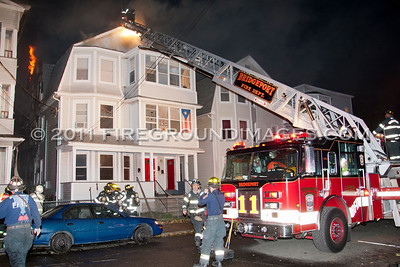 Hanover St. 2nd Alarm (Bridgeport, CT) 11/11/11