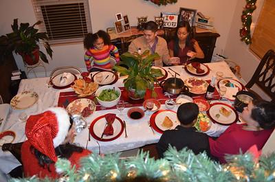 Christmas Eve & Day 2012