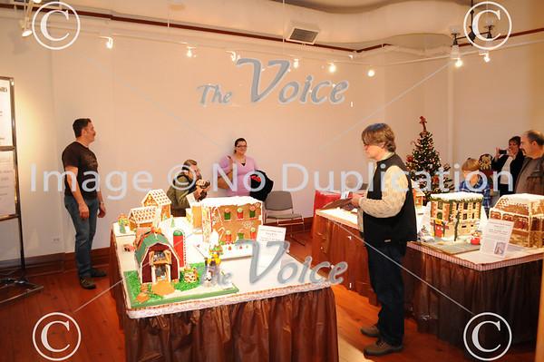 Aurora, IL Regional Fire Museum Gingerbread Firehouse Contest 11-27-10