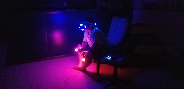 2018-08-06 AJ on PS4 VR