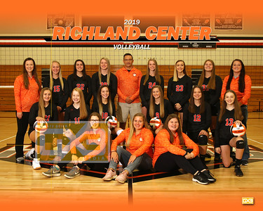 Richland Center volleyball VB19