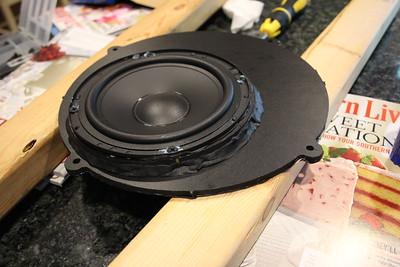2012 Infiniti G37S Sedan Bose Front Door Speaker Installation