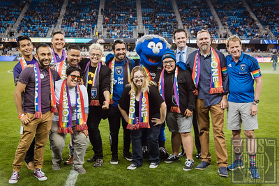 Pride Night with San Jose Earthquakes