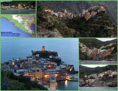 The Cinque Terre on the Italian Riviera