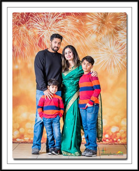 Katy-Greater Houston Tamil Friends New Year 2017 - Family Portraits