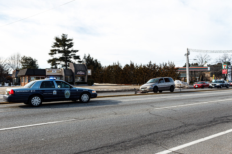Cyclist Hit by Car in Nashua (January 13, 2014)
