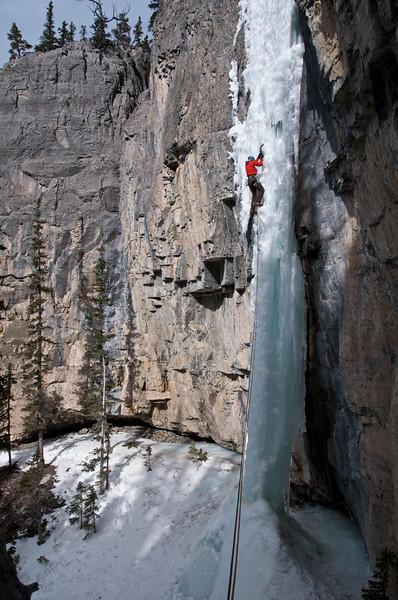 Lilla Molnar on The Eagle, Ghost River Alberta 8