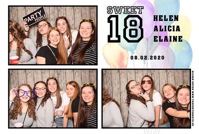 SWEET 18 Helen + Alicia + Elaine