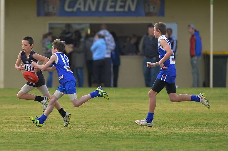 """U13"" 2nd SEMI FINAL  Waikerie v Renmark (at Lox Nth)"