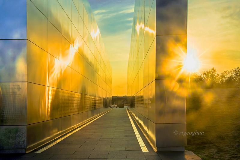 Empty Sky Memorial Sunset