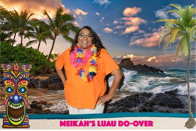 Meikah's Luau Do-Over