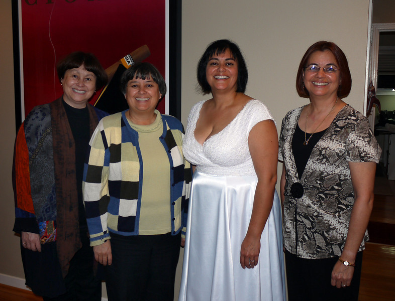 Kris, Leonie, Phyllis & Julie