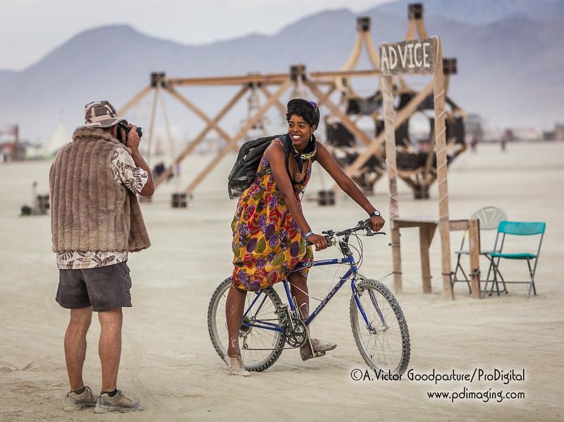 There is no lack of photo opps on the playa.