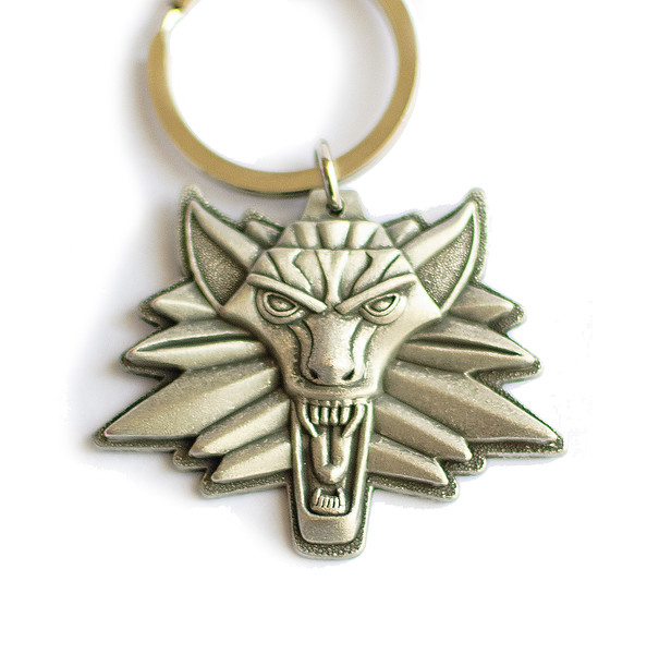 The Witcher 2 key chain
