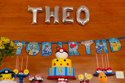 Aniversário 6 anos Theo