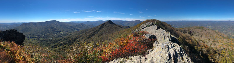 Three Top Mountain, Ashe County (10-19-18)