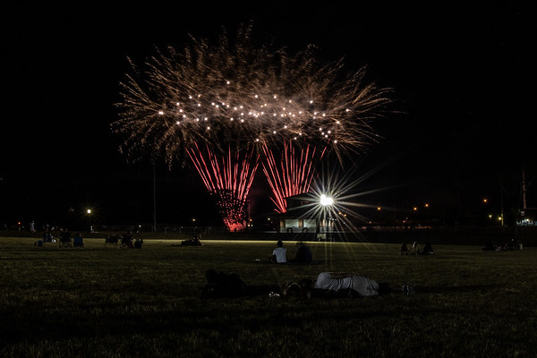 Hagerstown - Fireworks at Fairgrounds Park (2020-07-04)